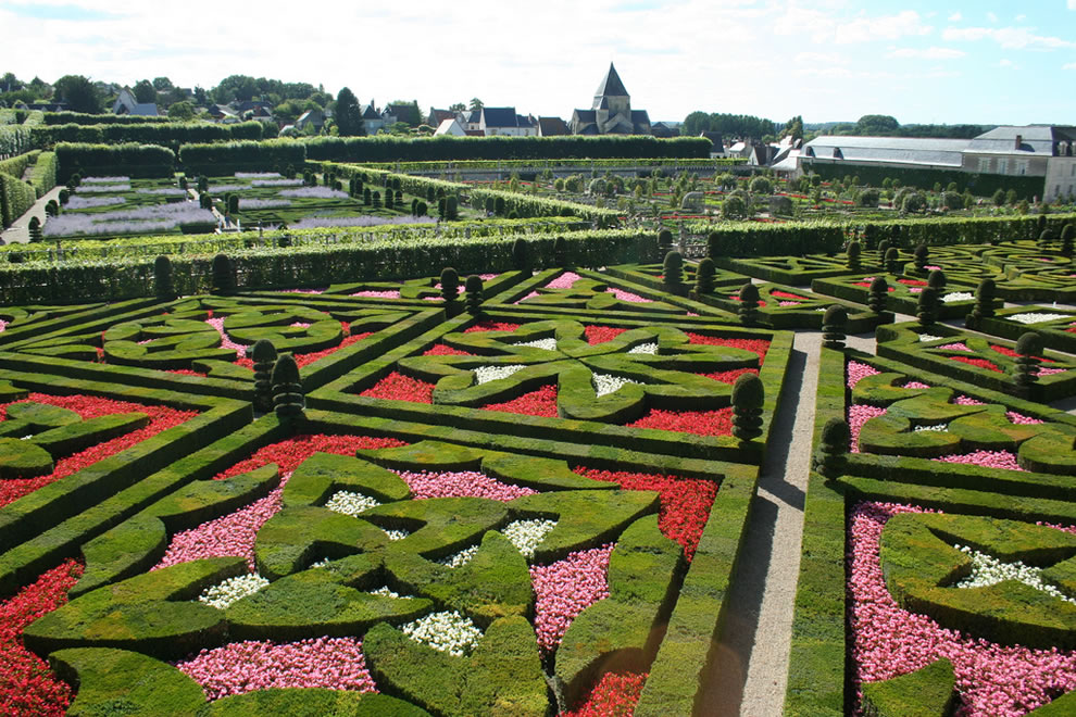 Jardin Francais   French Gardens, In Villandry