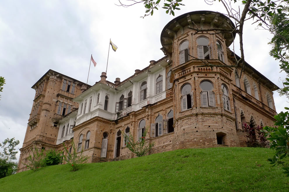 Kellie's Castle in Malaysia