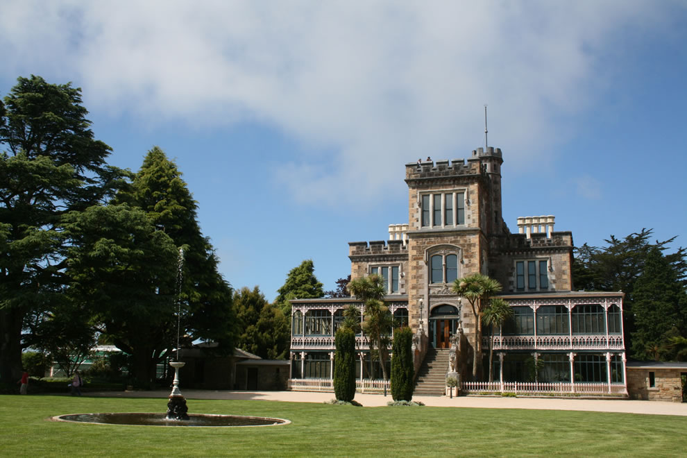 Larnach Castle, Otago Peninsula, New Zealand