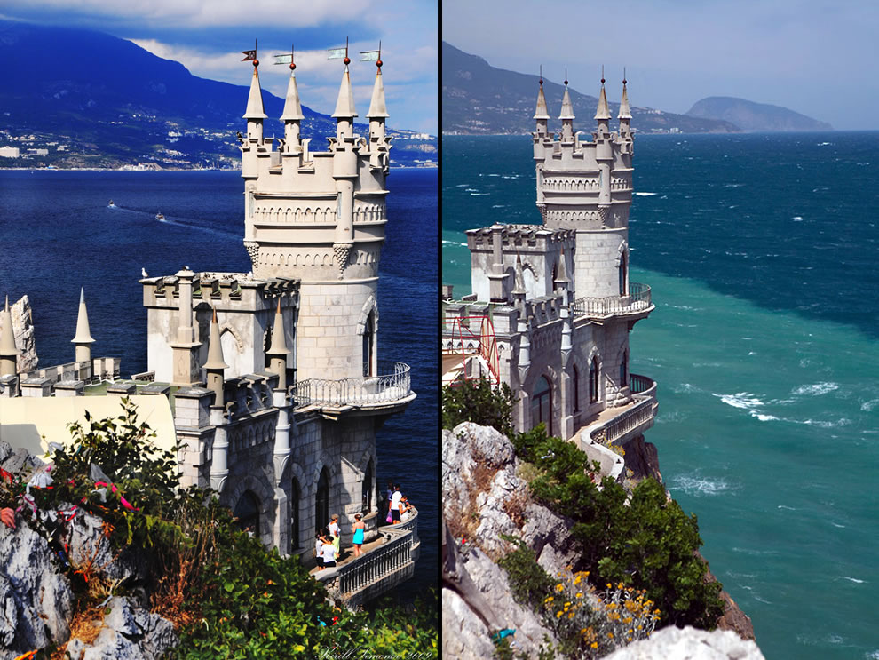 Swallow's Nest a symbol of Crimea Ukraine