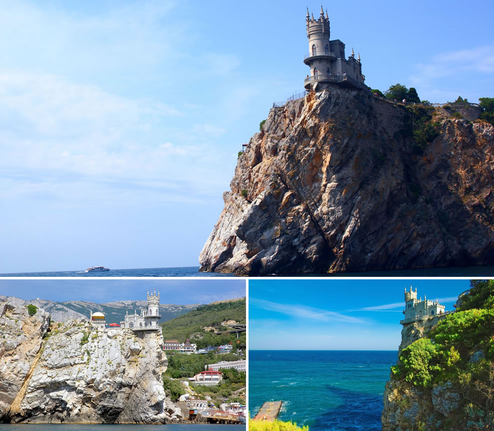 Swallows Nest built for hot tryist love Swallows Nest Castle in Crimea Yalta