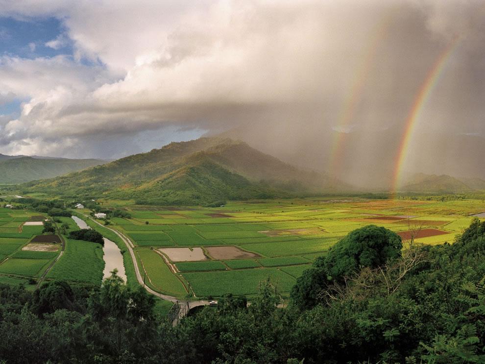 Hanalei River Valley Kauai Hawaii