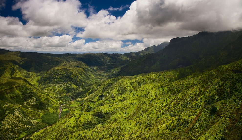 Hanalei homesteads, Kauai, Hawaii