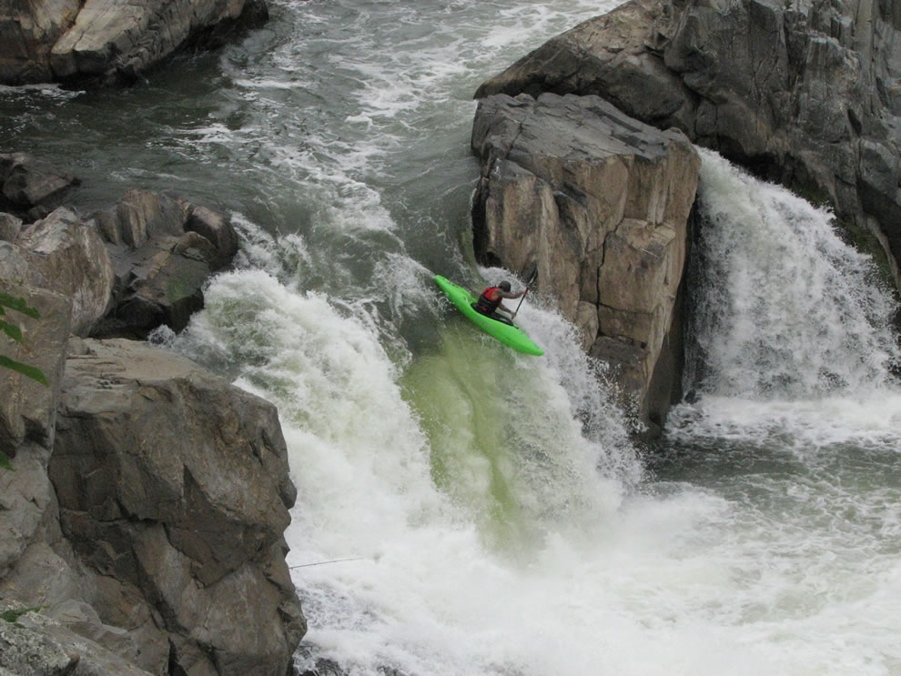 Kayak at Great Falls