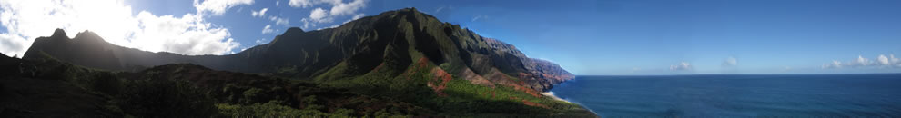 Na pali panorama