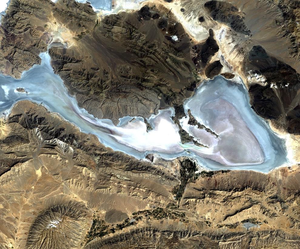 Salty Lakes, Iran's Neyriz Lakes