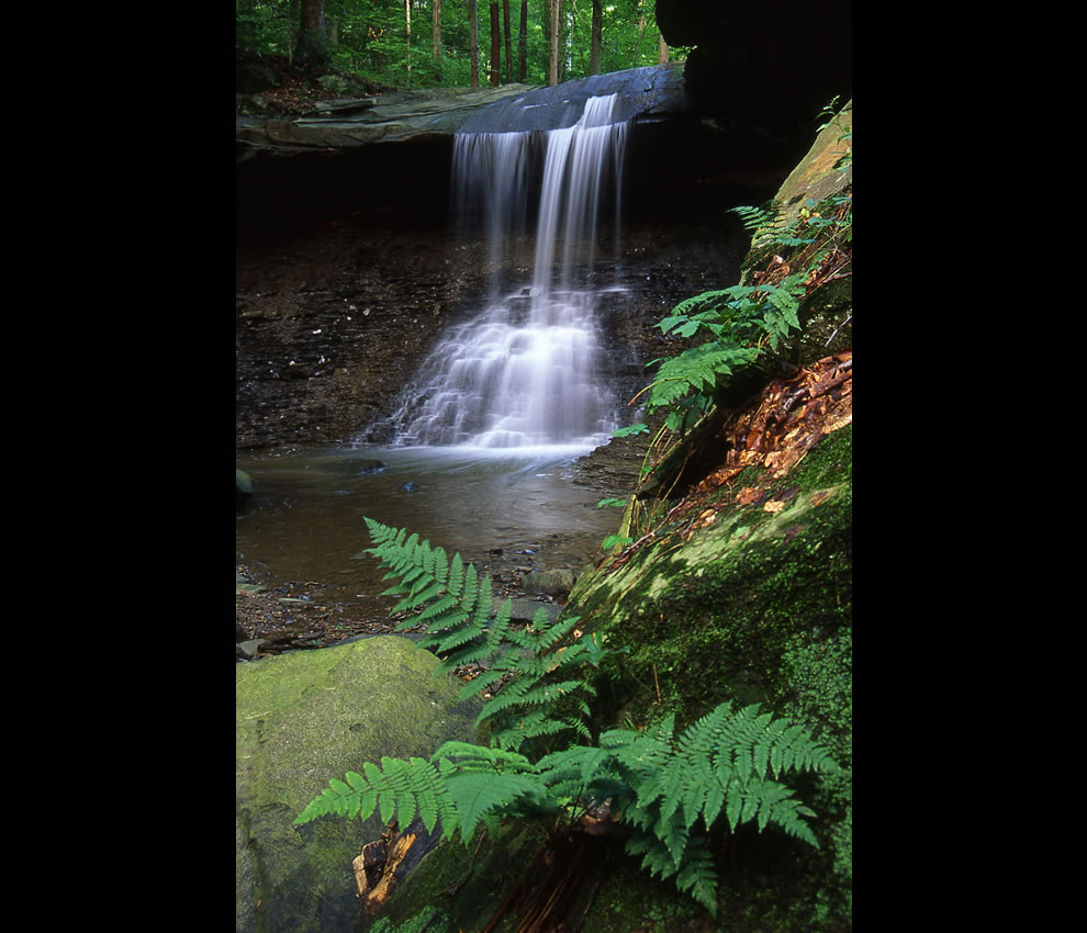Blue Hen Falls -- Cuyahoga Valley National Park