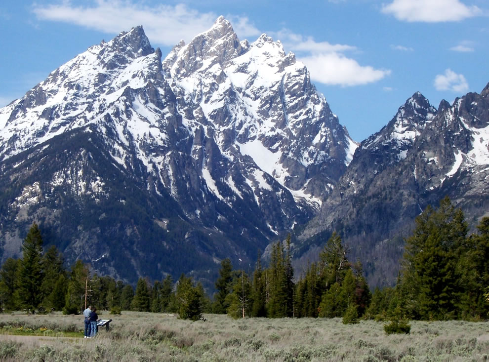 Cathedral Group at Grand Teton National Park