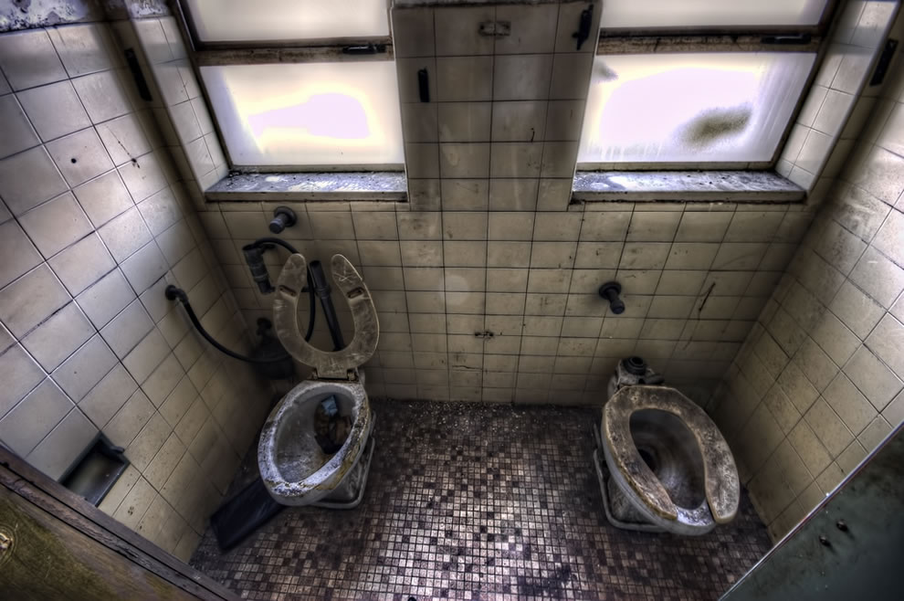 His and her haunted toilets