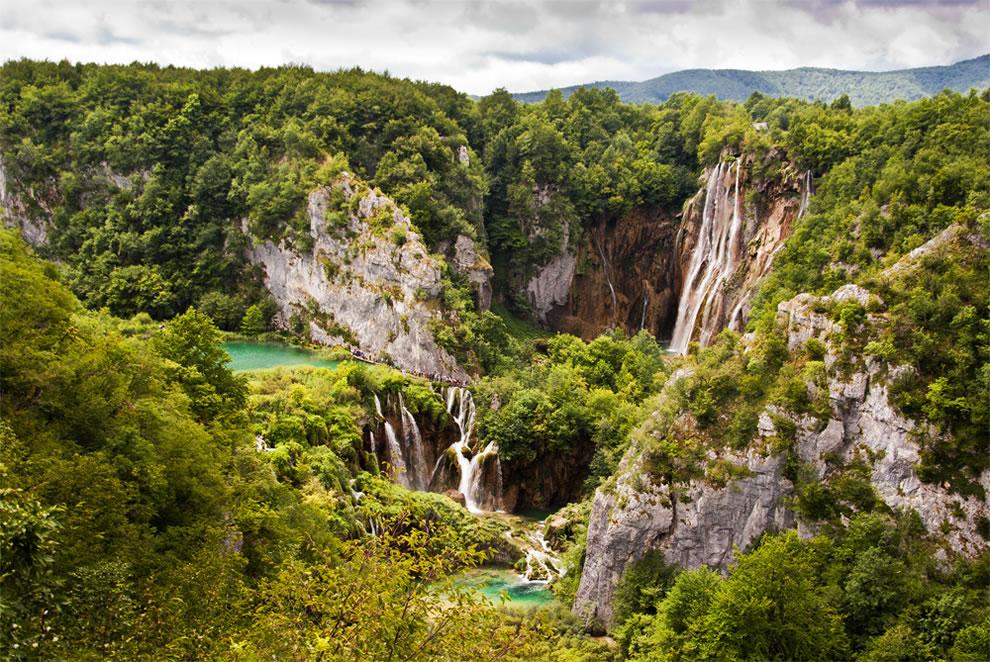 Beauty of Plitvice National Park, Croatia