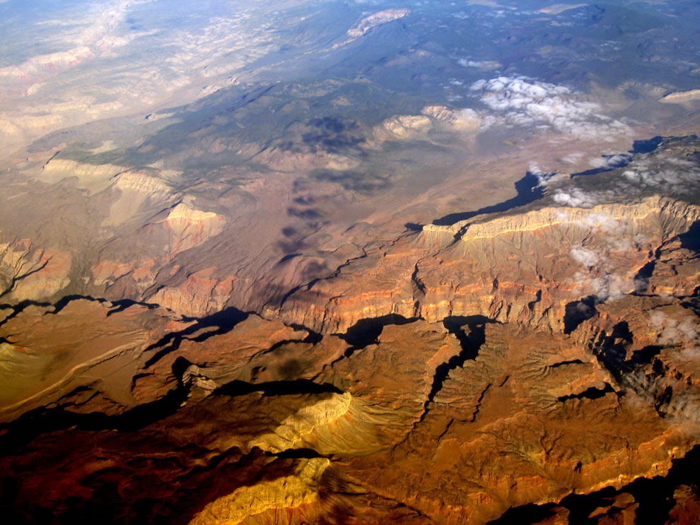Grand Canyon, from about Mohawk to Whitmore Canyons, below the Uinkaret Volcanic Field