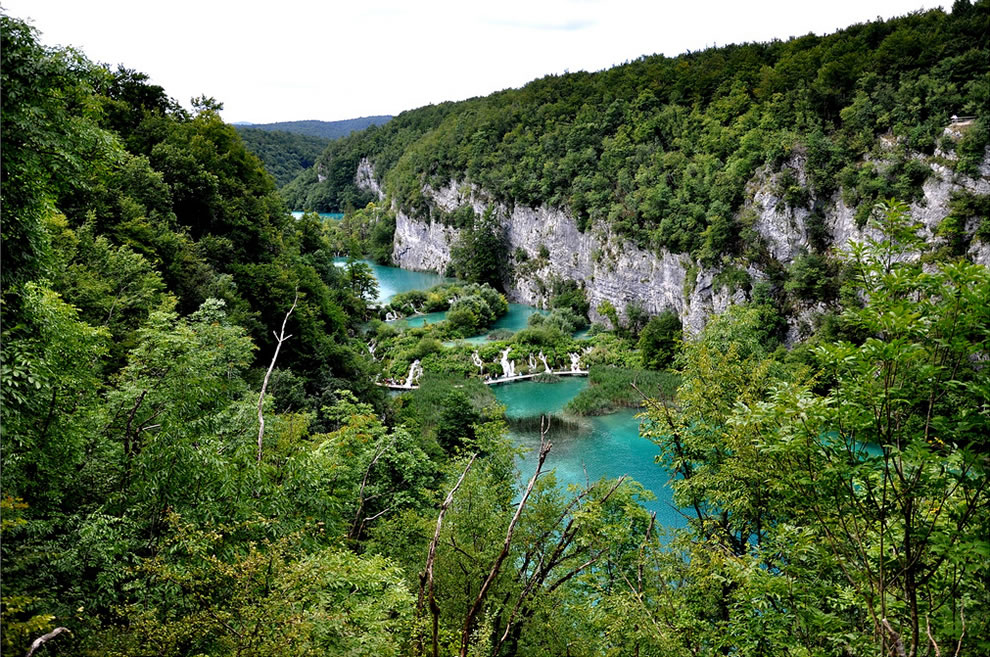 Grandeur of Plitvicka Jezera National Park