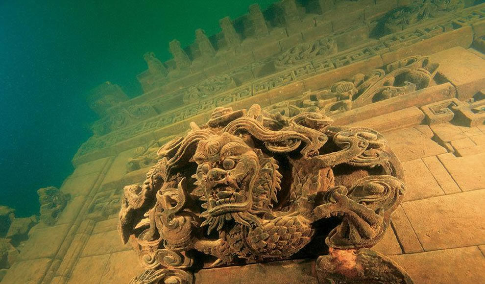 Lion City, lost underwater Shi Cheng, dubbed China&#039;s Atlantis rediscovered