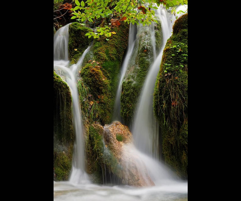 Waterfalls at Plitvicka Jezera National Park