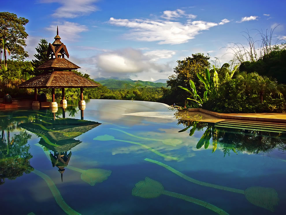 Anantara Golden Triangle Resort at Chiang Rai, Thailand