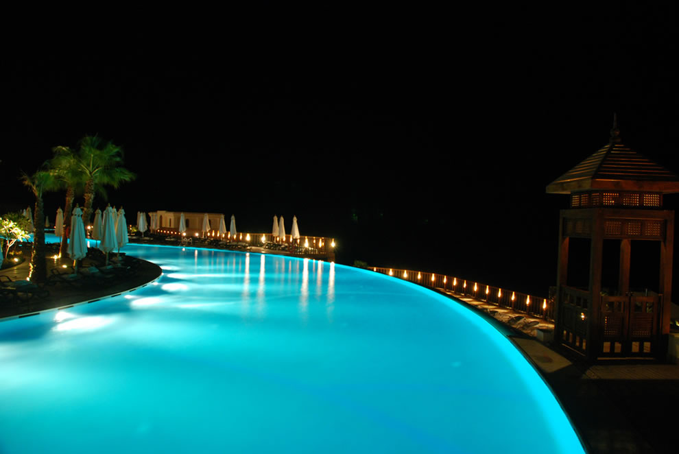 infinity pool night. Infinity Pool In Egypt Night I