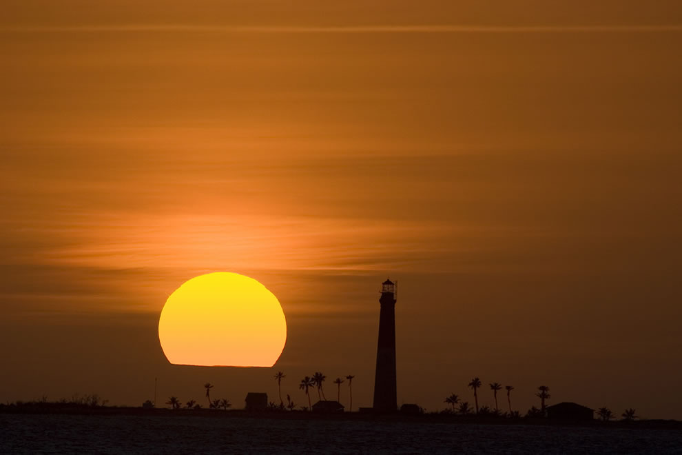 Loggerhead Key Lighthouse Sunset