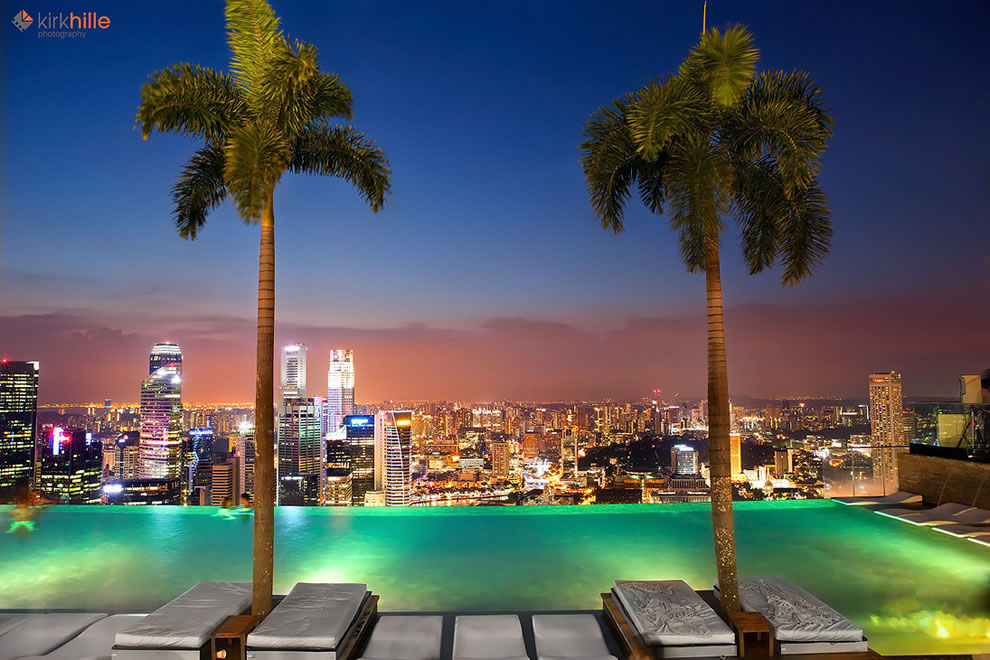 69 exquisite infinity pools that will blow your mind - Marina bay singapore pool ...
