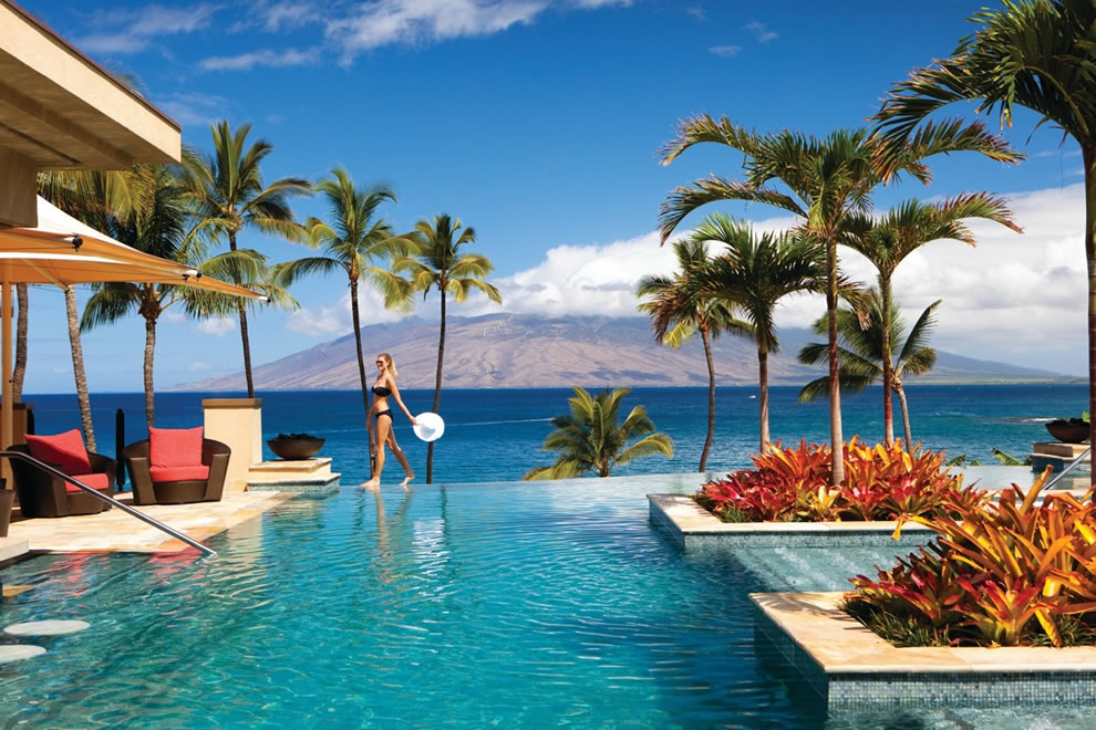 Maui Four Seasons infinity pool