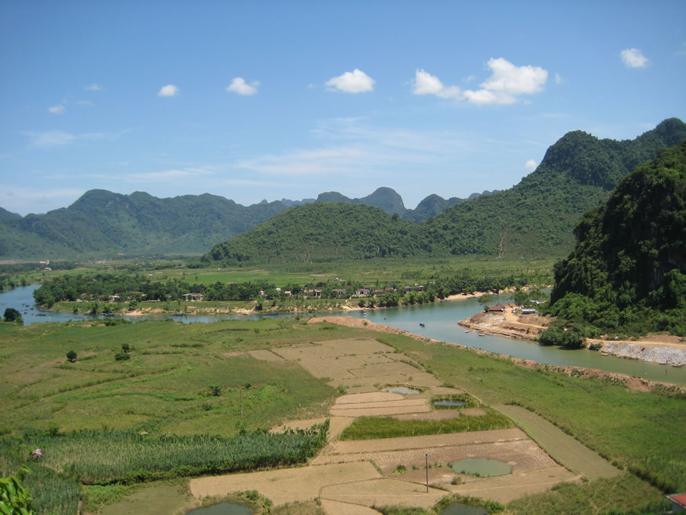 Overlooking Phong Nha-Ke Bang National Park, Vietnam
