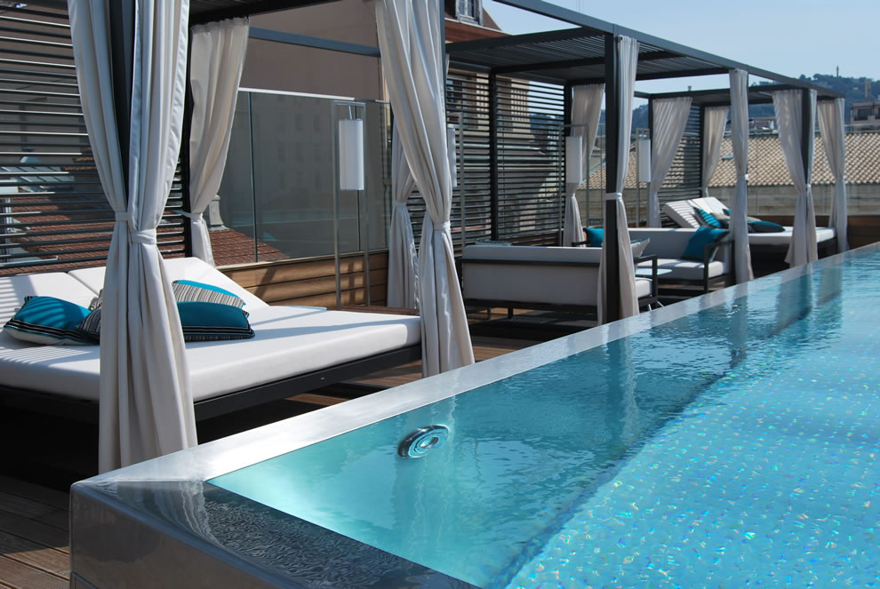 Piscine Five Hotel & Spa Infinity Pool