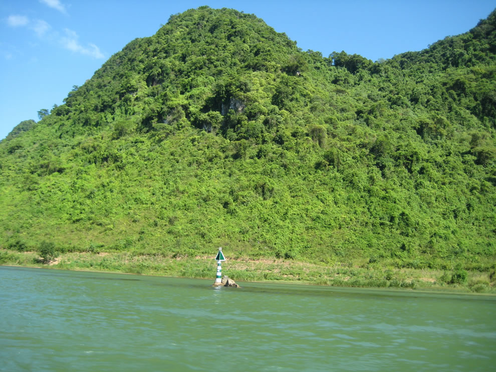 Who knows what all is still to be discovered in the jungles at Phong Nha-Ke Bang National Park in Vietnam