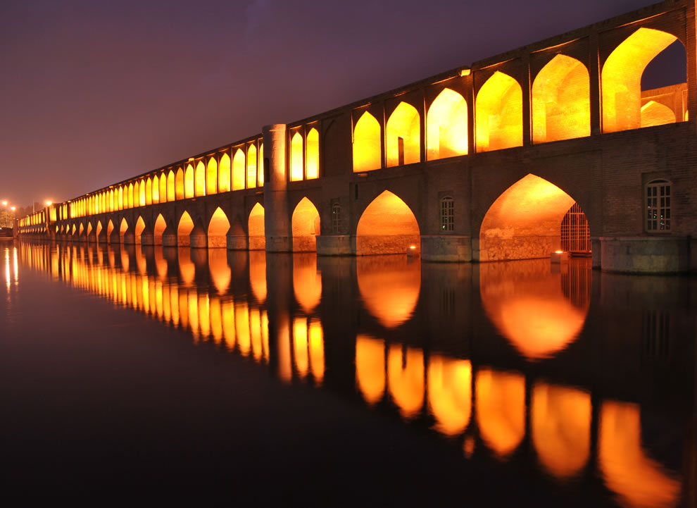 Wikimedia Commons Picture of the Year winners  #10 – 32 votes in Final; Si-o-se Pol, also called the Allah-Verdi Khan Bridge, in Isfahan, Iran