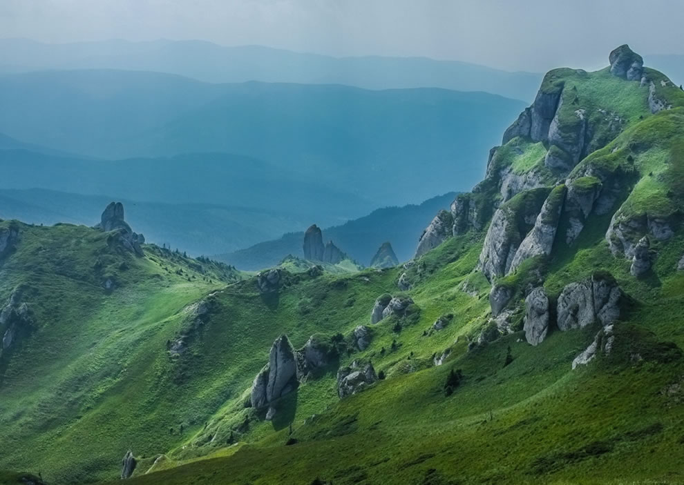 Ciucas Mountains Outdoor Scenes Carpathians of Romania