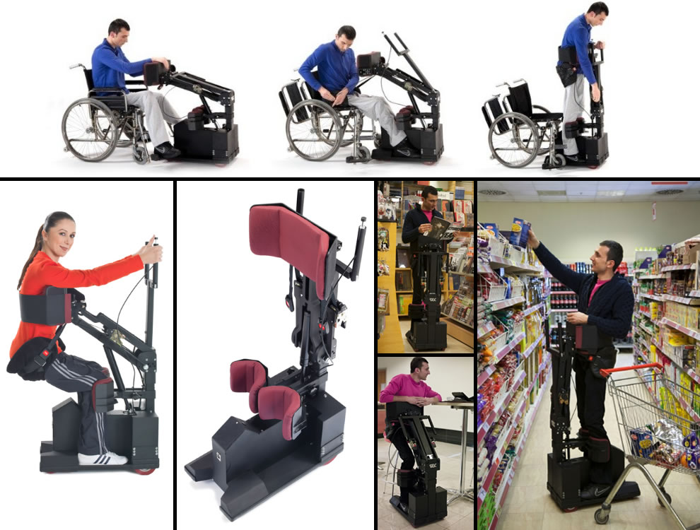 TEK Robotic Mobilization Device wheelchair design concepts