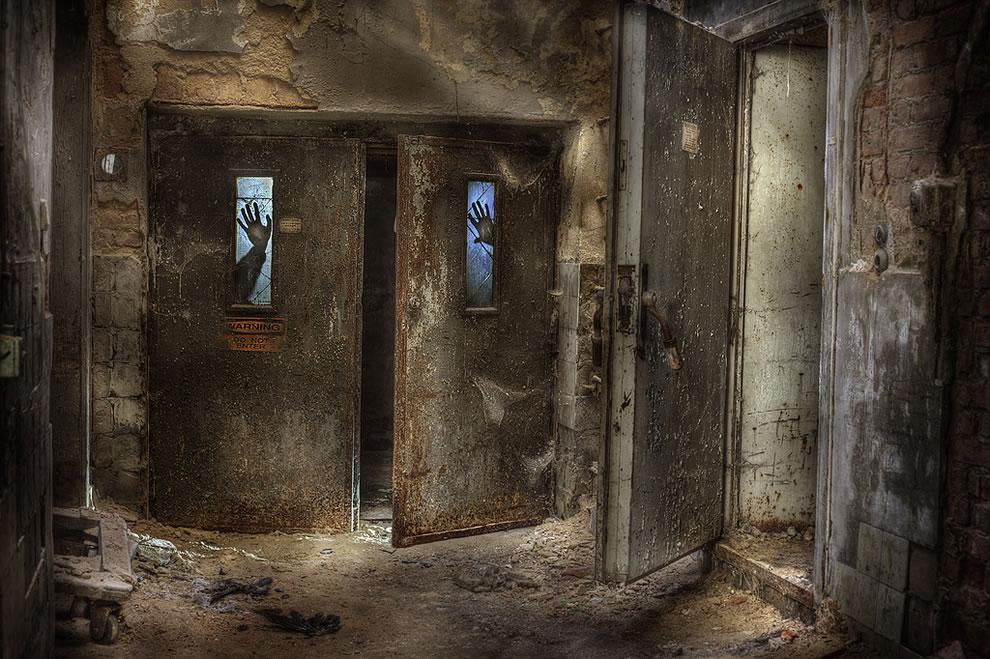 Abandoned crematorium radiOactivity