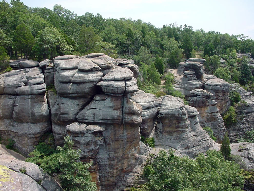 Shawnee National Forest, Garden of the Gods, South Illinois, USA