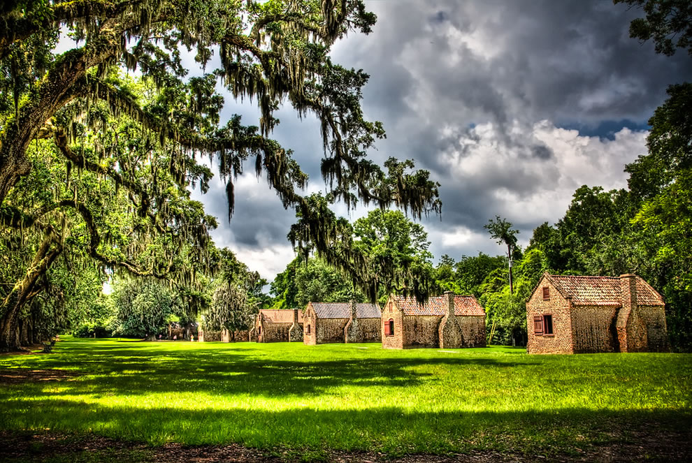 Slave Street at Boone Hall Plantation, South Carolina