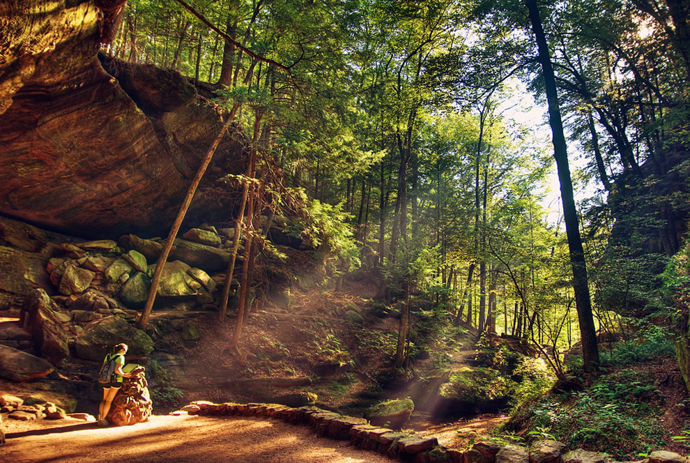 The sanctuary at Hocking Hills State Park