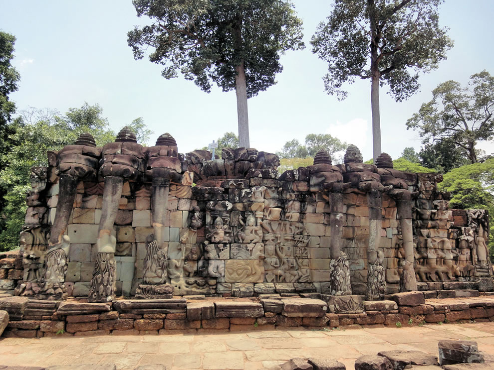 Angkor Thom Terrace of the Elephants