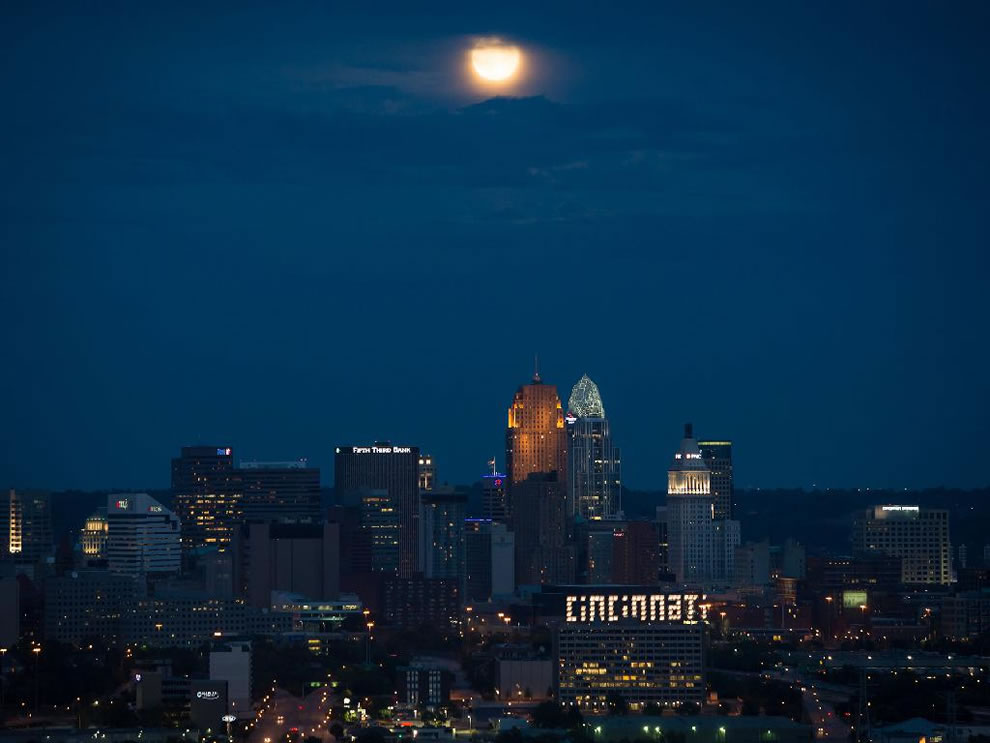 Blue Moon Over Cincinnati