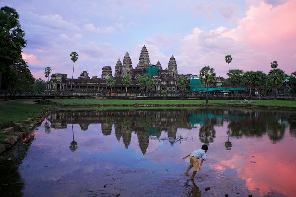 Sunset@Angkor Wat