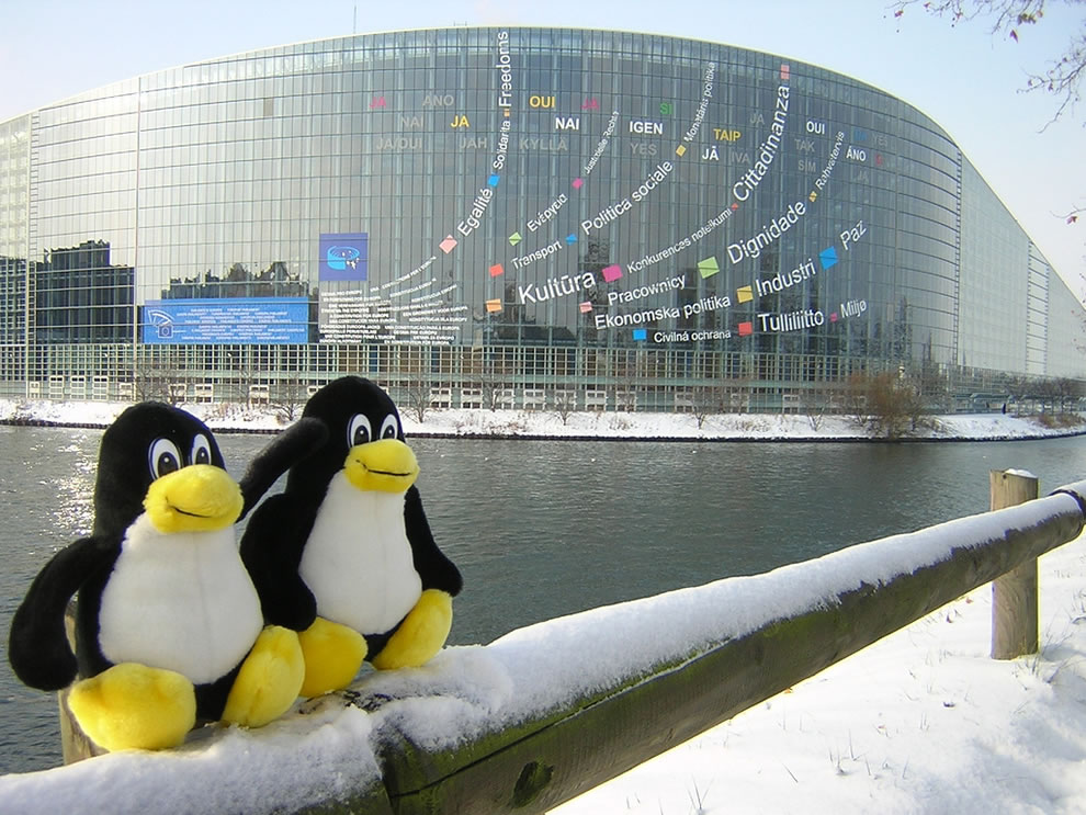 Tux and Tix and EP (European Parliament)