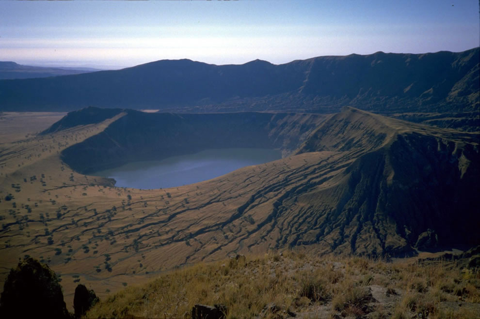 Deriba Crater Lake at Jebel Marra – Darfur, Sudan