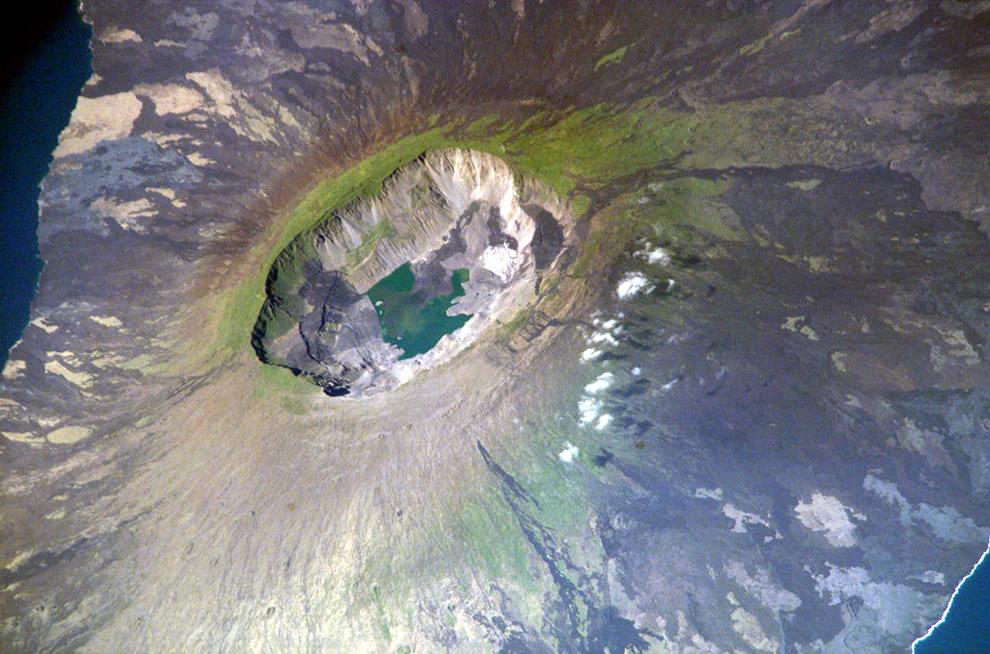 La Cumbre volcano, Fernandina Island, Galapagos