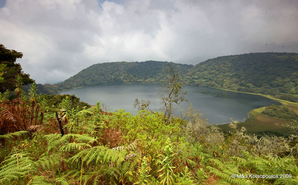 Lago Biao, Crater Lake