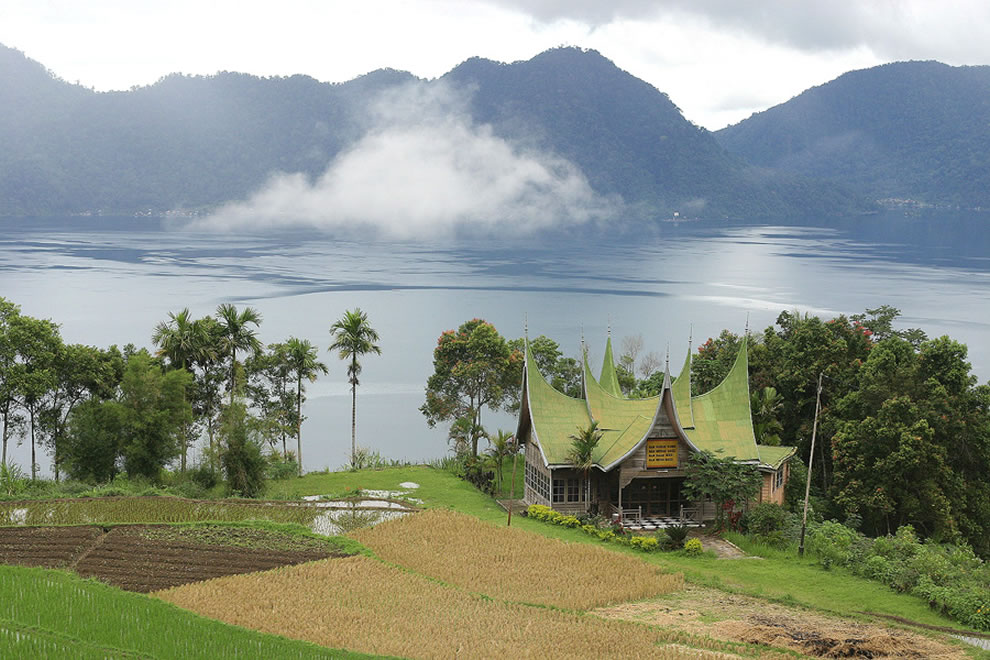 Lake Maninjau' is a crater lake in West Sumatra, Indonesia