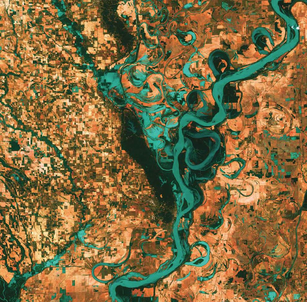 Meandering Mississippi, United States
