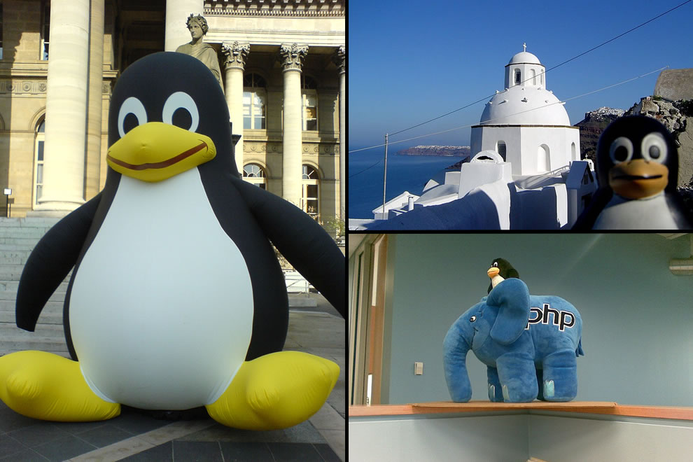Tux is everywhere