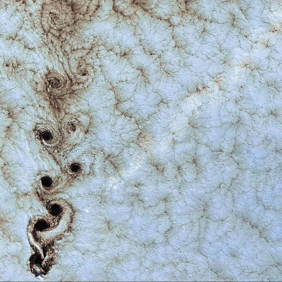 Von Kármán Vortices, Southern Pacific Ocean