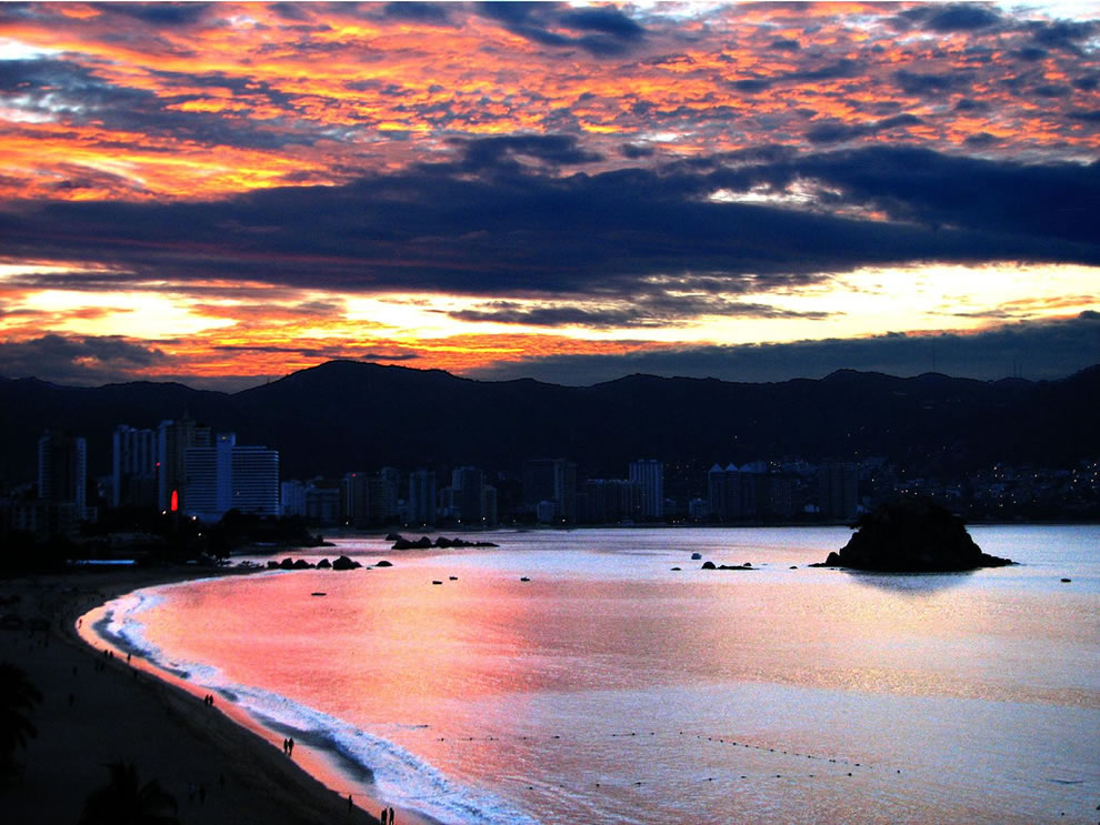 Acapulco in January