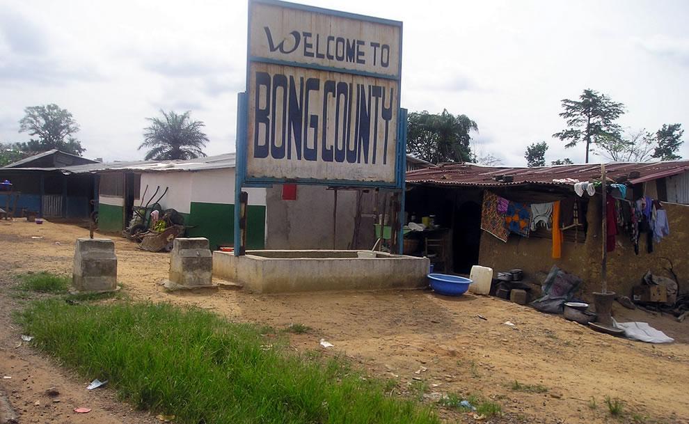 Bong county Liberia