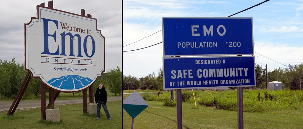 Emo, Ontario, population 1200, a 'safe community'