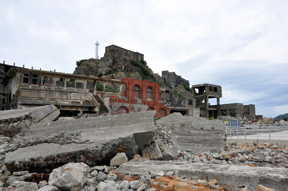 Hashima Island provided the inspiration for villain's lair in Skyfall