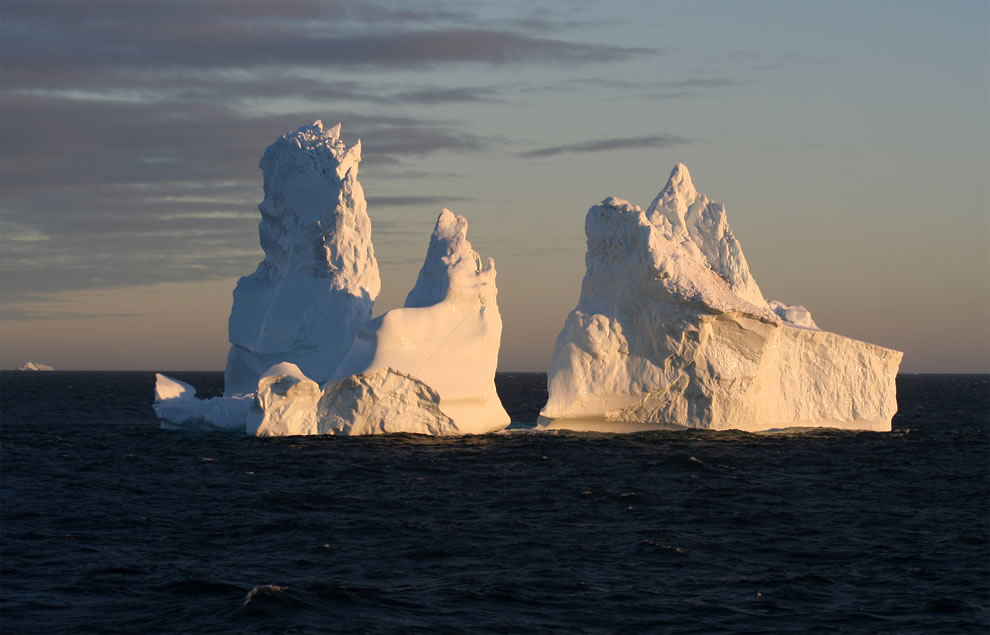 Iceberg around Cape York