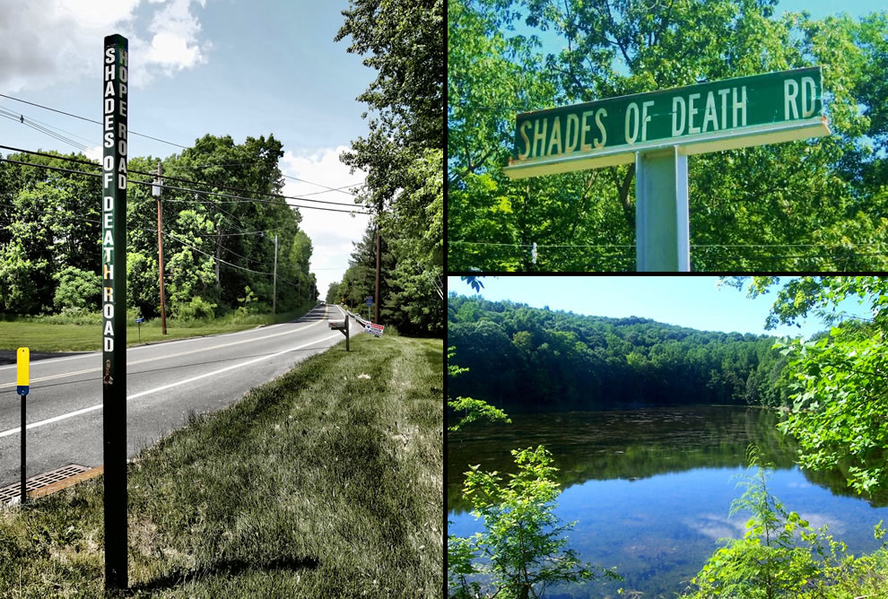 Shades of Death Road, New Jersey, Ghost Lake